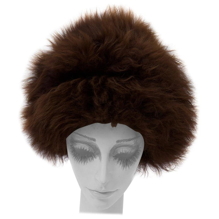 Vintage Lamb Hat For Sale