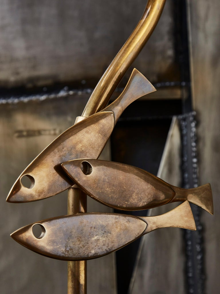20th Century Vintage Lamps in Brass For Sale