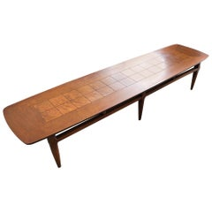 Vintage Lane Altavista Surfboard Coffee Table