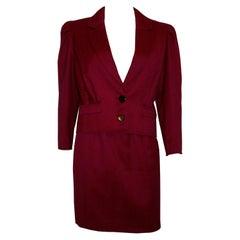 Vintage Lanvin Paris Skirt Suit