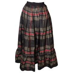 Vintage Lanvin Silk Skirt