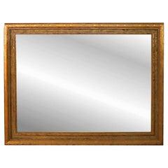 Vintage Large 20th Century Giltwood Mirror