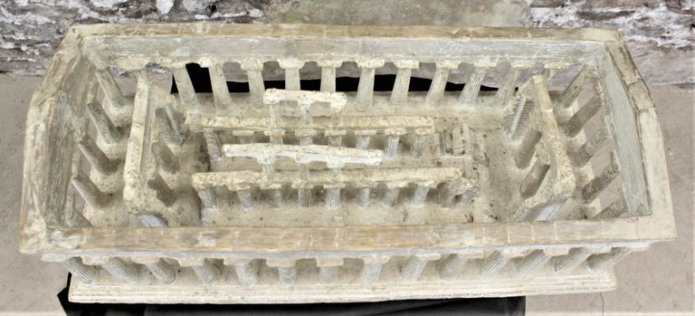 Vintage Large Ancient Greek Temple Ruins Architectural Model or Sculpture For Sale 1