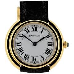 Vintage Cartier Paris Vendome Large Watch