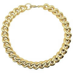 Vintage Large Chunky Curb Chain 1990s