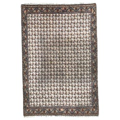 Vintage Large Decorative Moroccan Rug