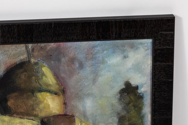 20th Century Vintage Large Oil Painting, Signed by Artist For Sale