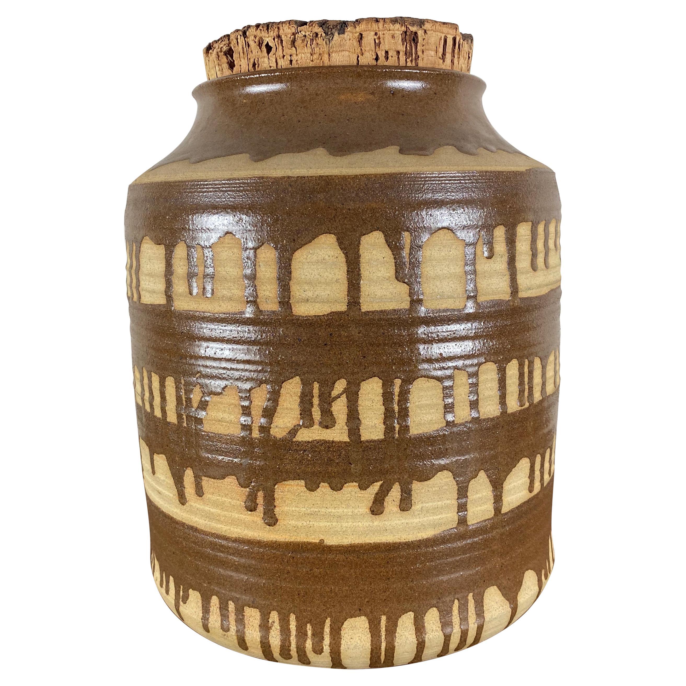 Vintage Large Pottery Jar/Crock