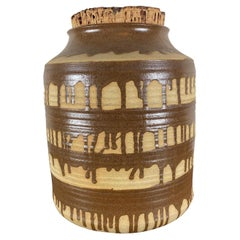 Vintage Large Pottery Jar/Crock