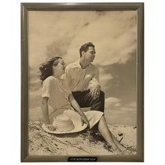 "Vintage Large Scale ""Kodak Film"" Advertisement, circa 1950"