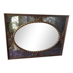 Vintage Large Wall Mirror