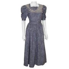 Vintage Laura Ashley Cotton Dress