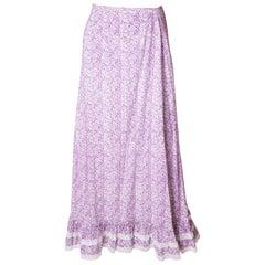 Vintage Laura Ashley Cotton Skirt