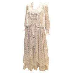 Vintage Laura Ashley Dress and Bolero