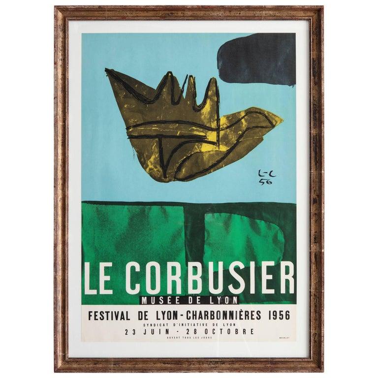 Vintage Le Corbusier Poster For Sale