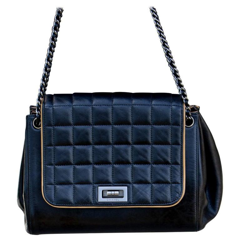 Vintage Leather Chanel Shoulder Bag