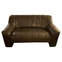 Vintage Leather De Sede S-44 Loveseat / Sofa
