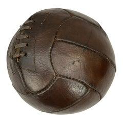 Vintage Leather Football, Soccer Ball