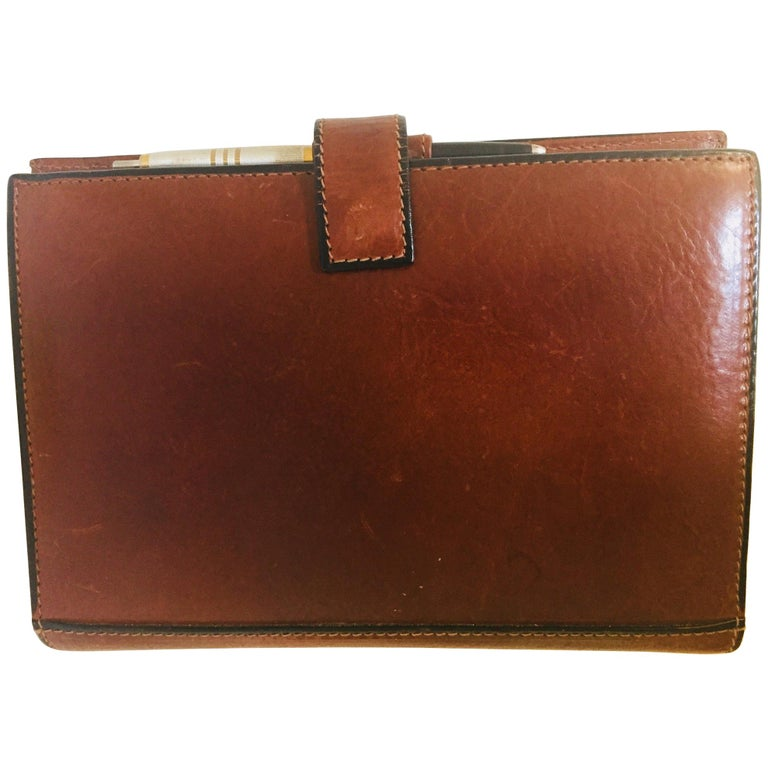 b8b4633d8 Vintage Leather Stitched Agenda Refillable by Tumi For Sale at 1stdibs