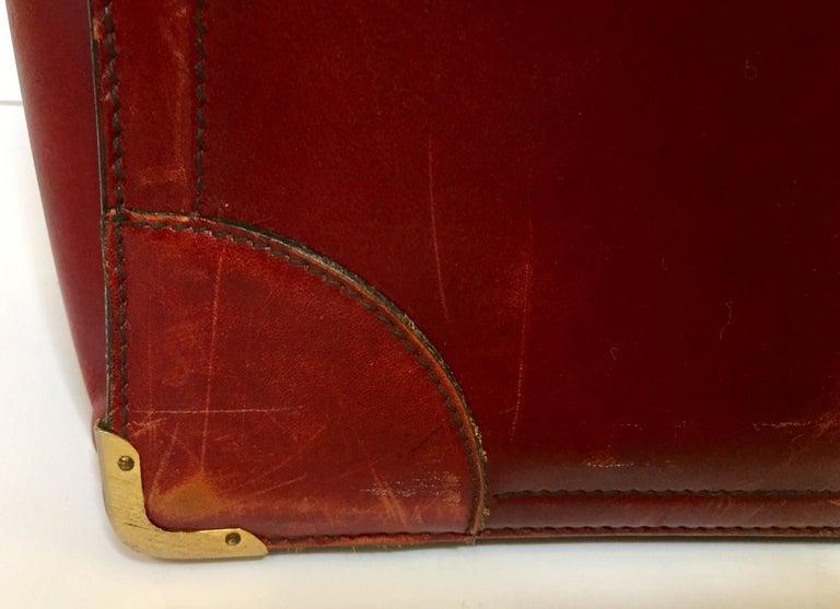 20th Century Vintage Leather Suitcase