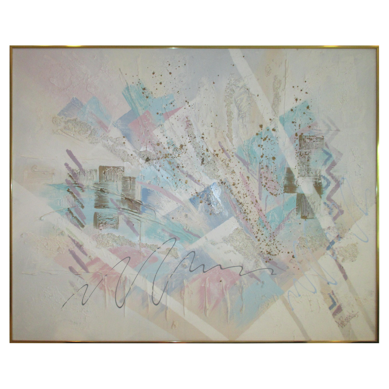 Vintage Lee Reynolds Large Abstract