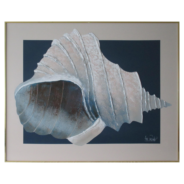 Vintage Lee Reynolds Seashell Painting
