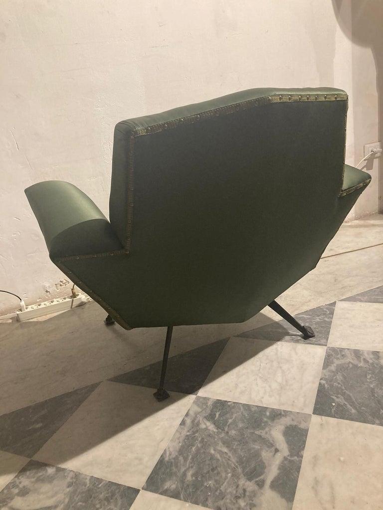 Italian Vintage Lenci Armchair by Fabio Lenci, 1950s For Sale