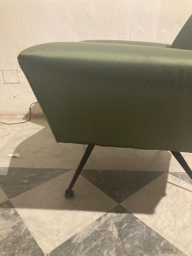 Vintage Lenci Armchair by Fabio Lenci, 1950s For Sale 2