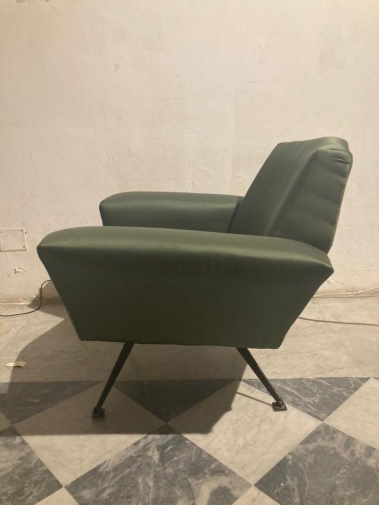 Vintage Lenci Armchair by Fabio Lenci, 1950s For Sale 3