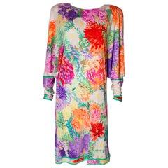 Vintage Leonard Silk Jersey Dress