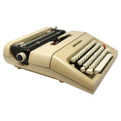 Vintage Lettera 35 Typewriter by Mario Bellini for Olivetti, 1970s