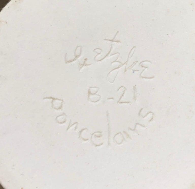 Lietzke Studio Porcelain Tableware Set, Midcentury Modern Art Pottery Ceramics For Sale 1