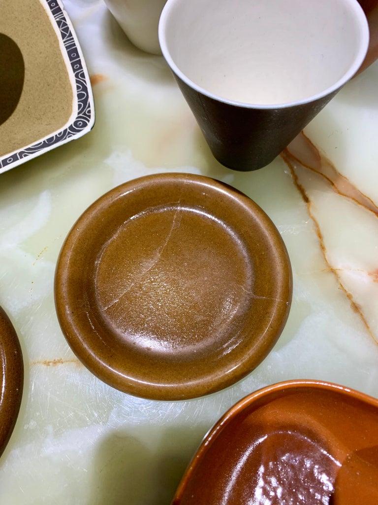 Lietzke Studio Porcelain Tableware Set, Midcentury Modern Art Pottery Ceramics For Sale 2