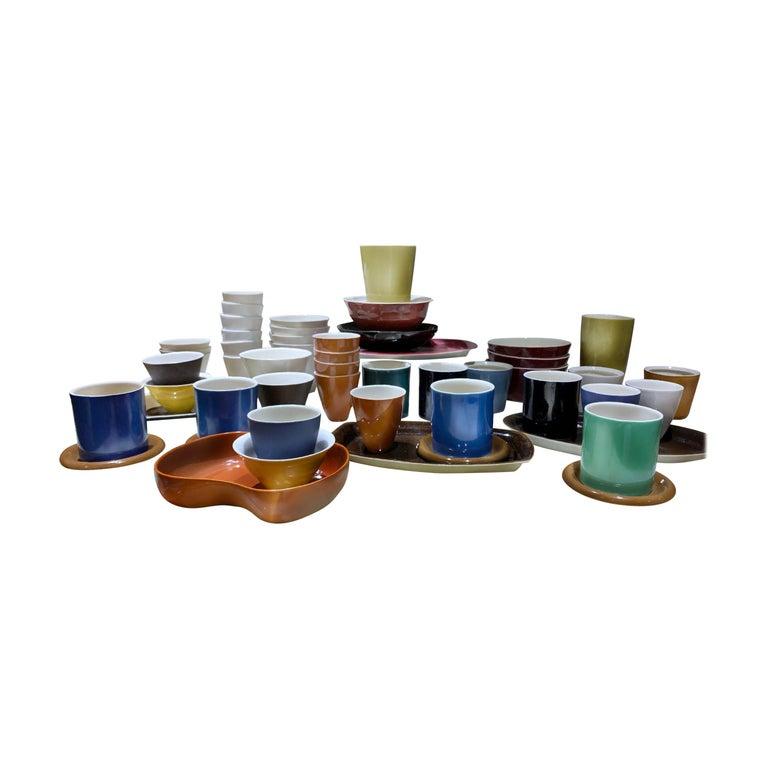 Lietzke Studio Porcelain Tableware Set, Midcentury Modern Art Pottery Ceramics For Sale