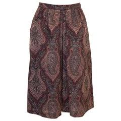 Vintage Liberty Wool Skirt