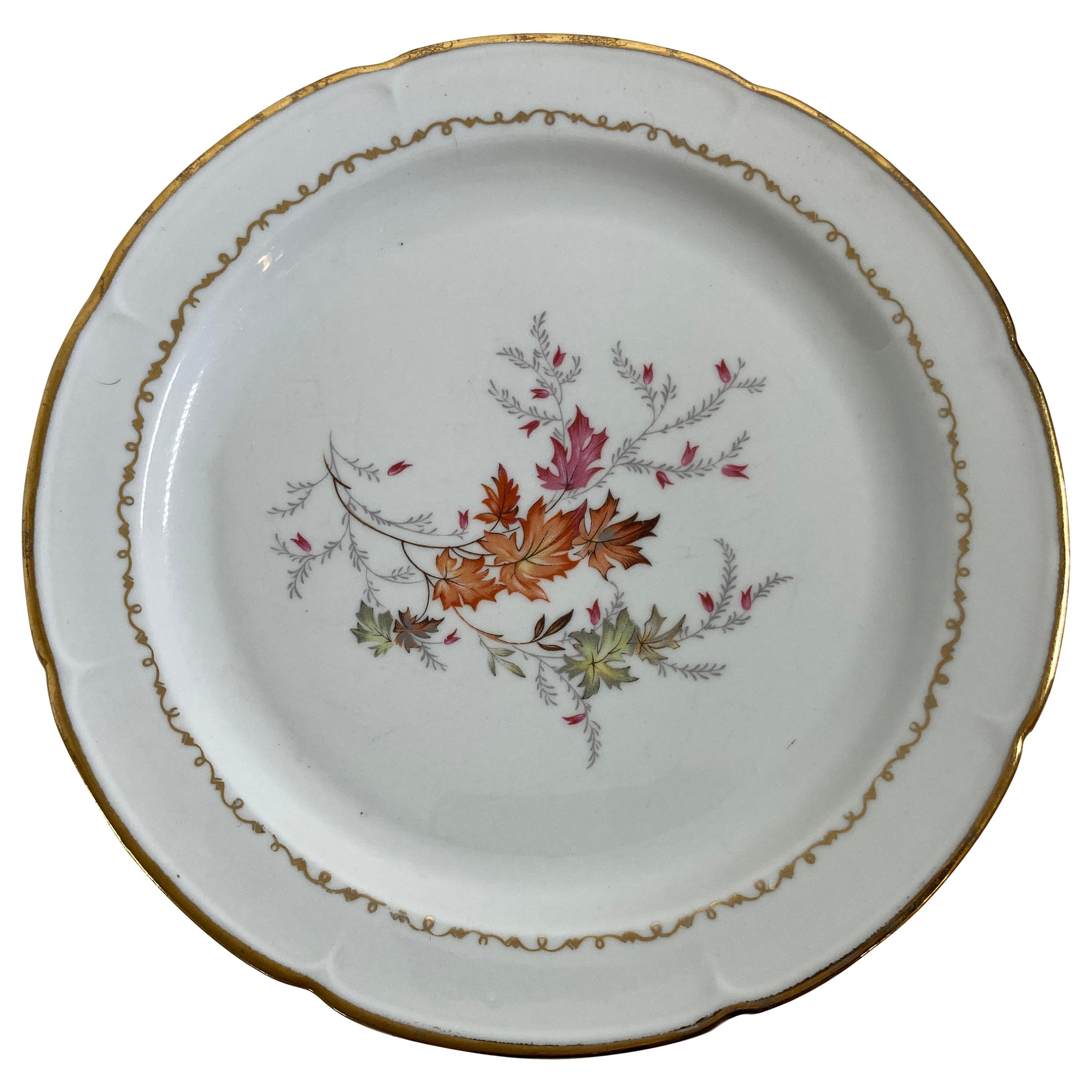 Vintage Limoges Collectible Plate Handmade in France