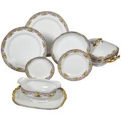 Vintage Limoges Dinnerware 73 Pieces