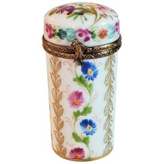 Vintage Limoges Tall Ring Box