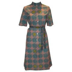 Vintage Linen Dress by Marimeko of Finland