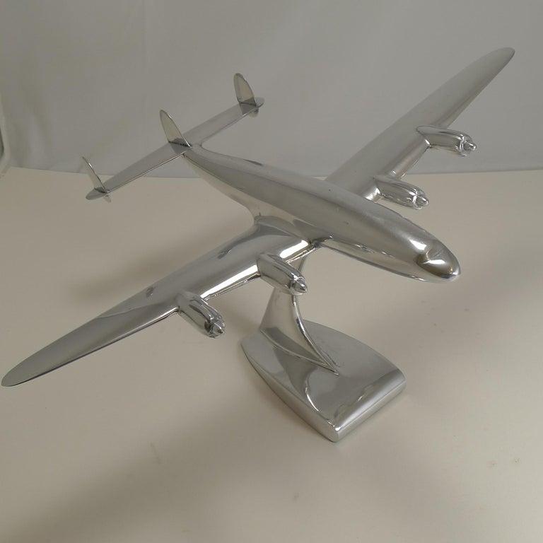 American Vintage Lockheed Constellation Plane Model, circa 1950 For Sale