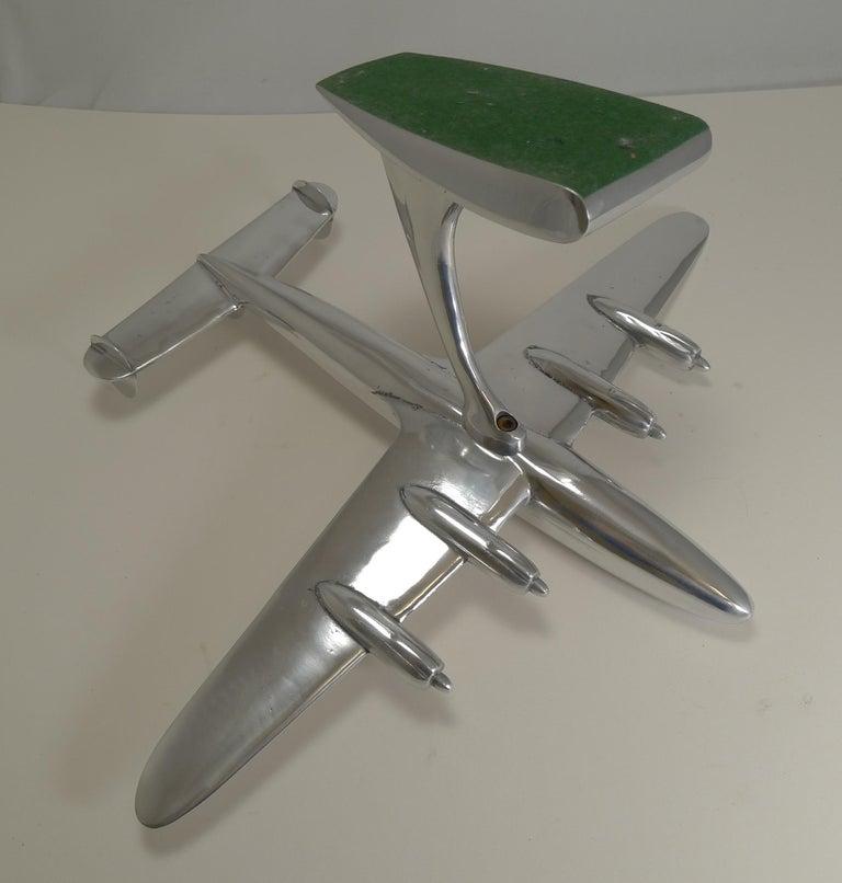 Aluminum Vintage Lockheed Constellation Plane Model, circa 1950 For Sale