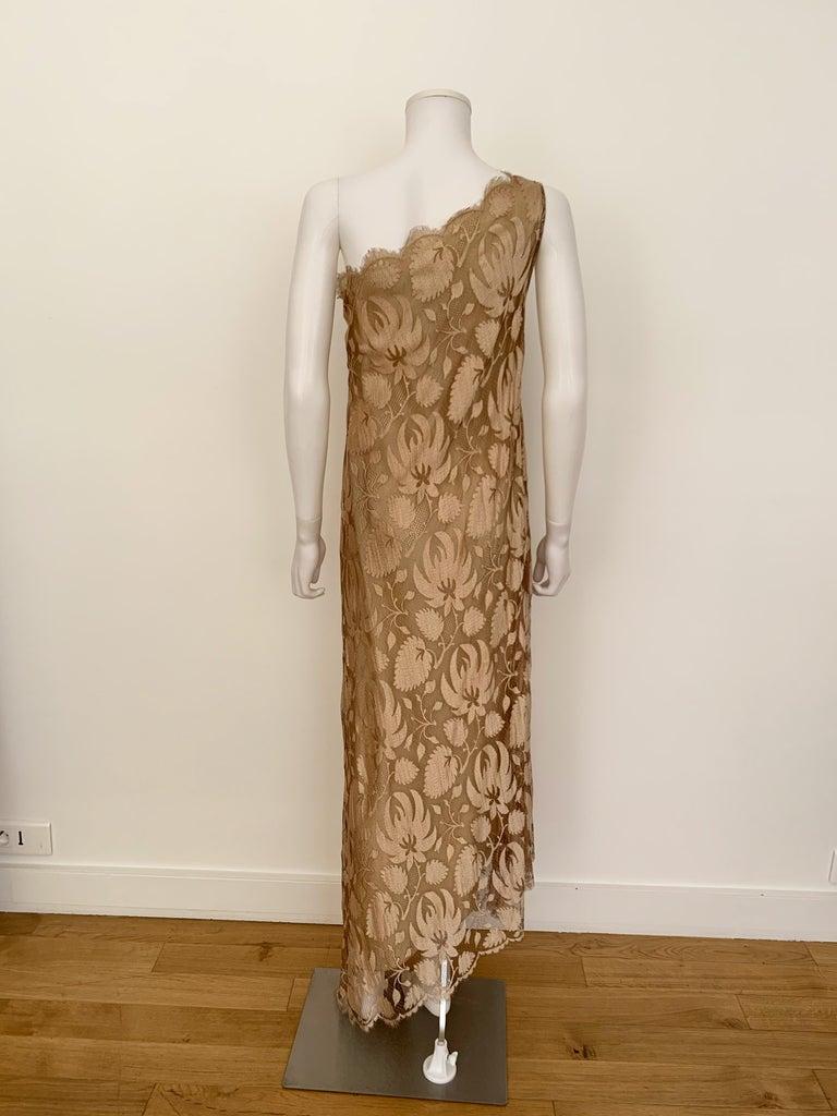 Women's Vintage Long Lace Dress For Sale