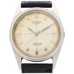 Vintage Longines Grand Prize Automatic Stainless Steel Watch, 1956