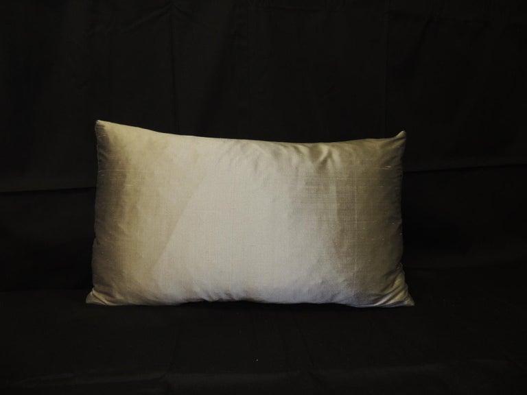 Italian Vintage Loro Piana Cashmere Decorative Lumbar Pillow For Sale