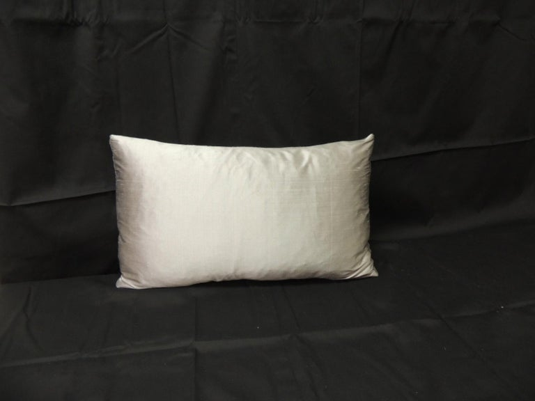 Hand-Crafted Vintage Loro Piana Cashmere Decorative Lumbar Pillow For Sale