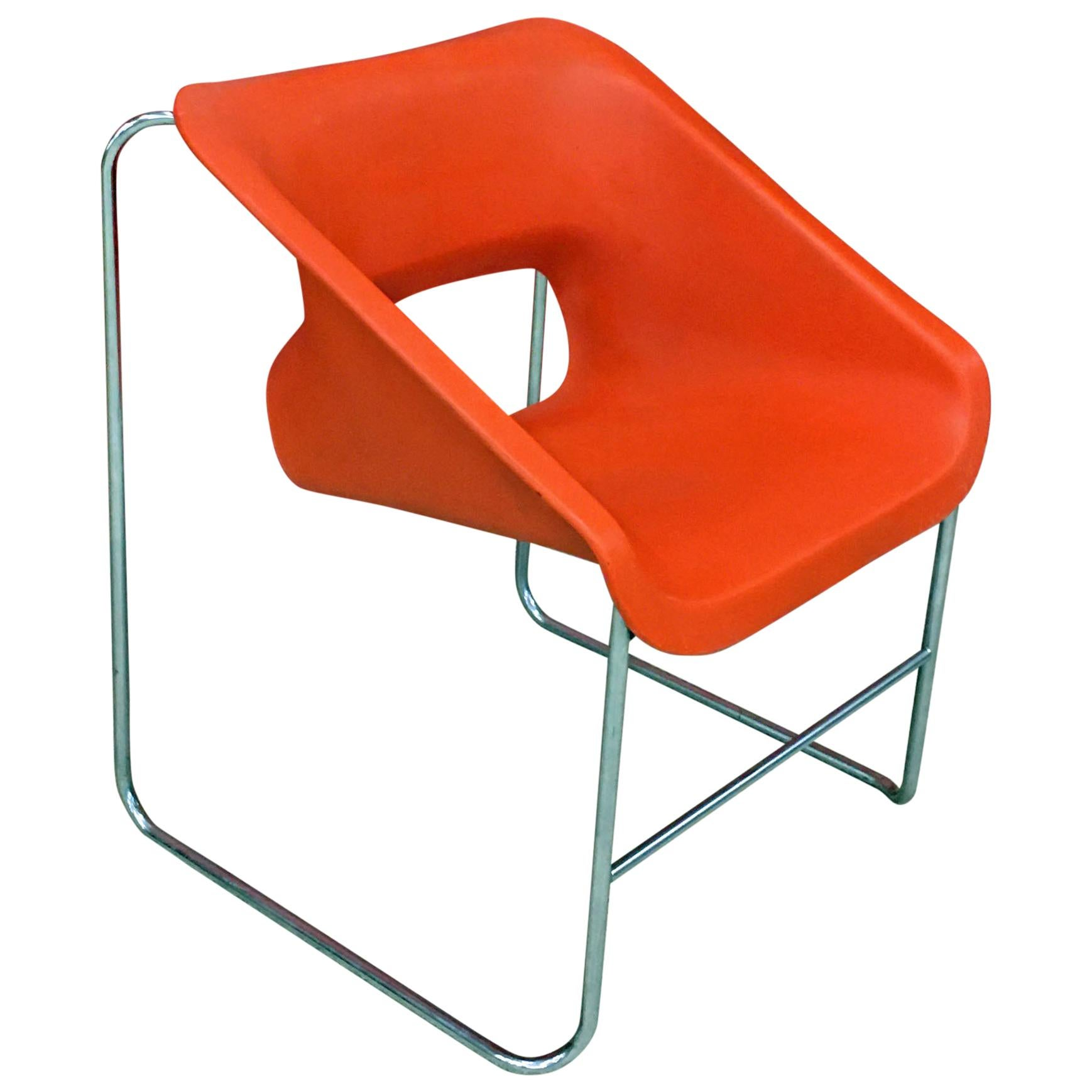 Vintage Lotus Chair designed for Artena by Paul Boulva, circa 1976