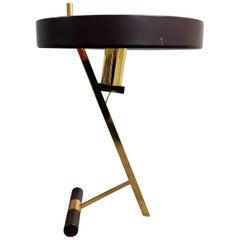 Vintage Louis Kalff Diplomat or Z Model Table Lamp, 1950s
