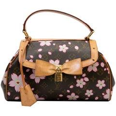 Vintage LOUIS VUITTON BAG 'Cherry Blossom' Takashi Murakami Limited Edition
