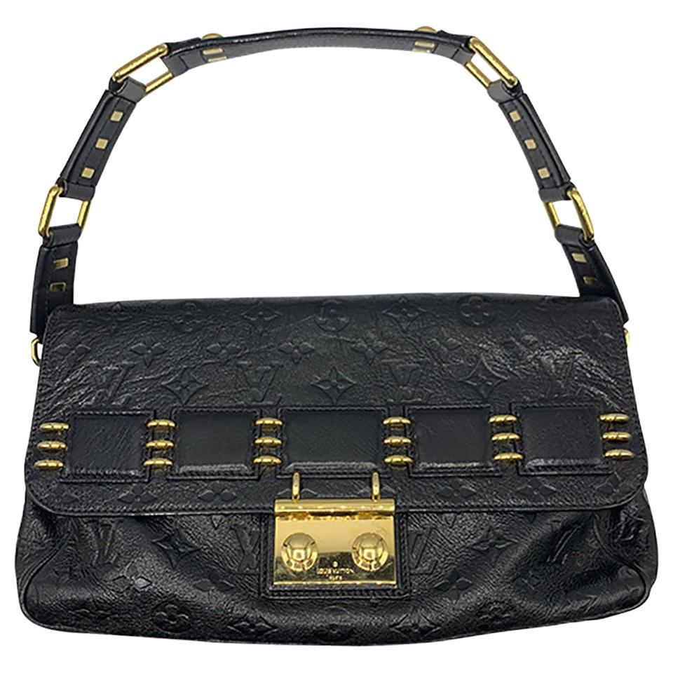 Vintage Louis Vuitton Black Empreinte Monogram Bag