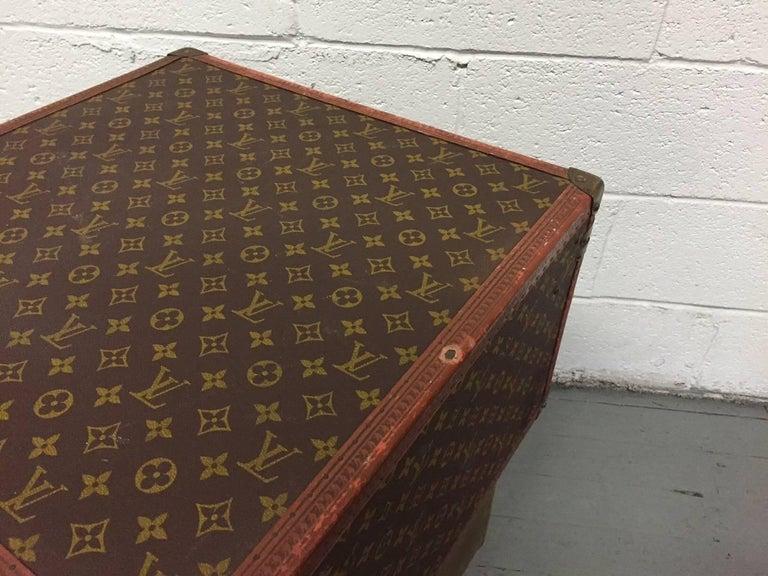 Vintage Louis Vuitton Hat Box For Sale 4